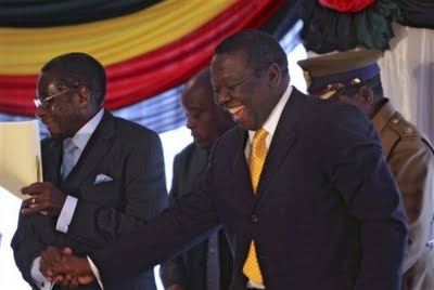 Tsvangirai trying to make things work with Mugabe